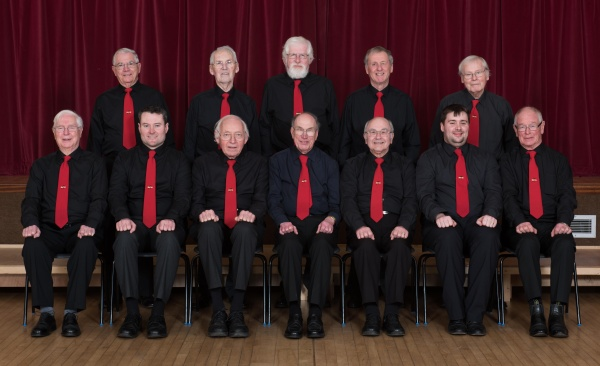 Steventon Choral Society - tenor and bass sections