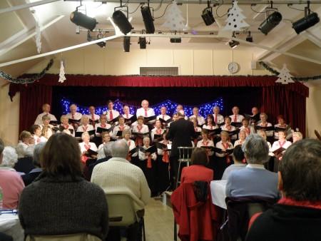 Steventon Choral Society's Christmas Concert 2011 in Steventon Village Hall