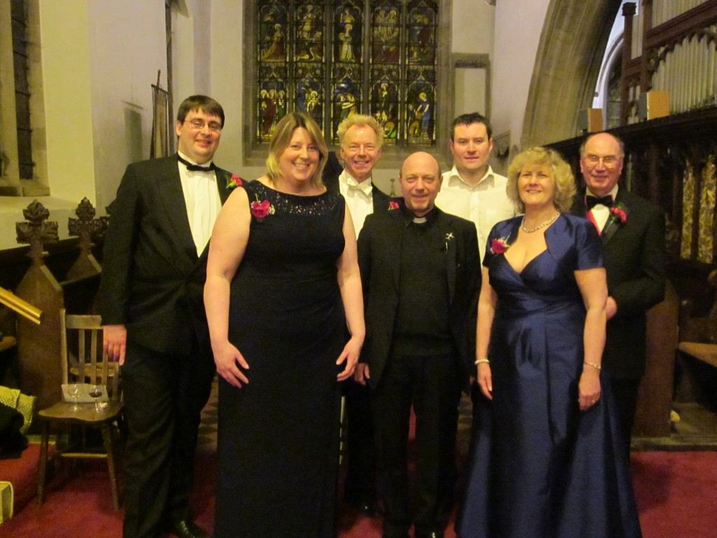 Key people for Mozart's Requiem by Steventon Choral Society on Palm Sunday 2015