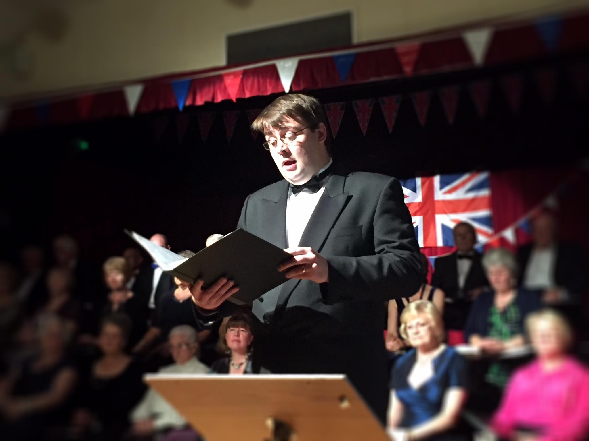Howard Feather sings Nessun Dorma