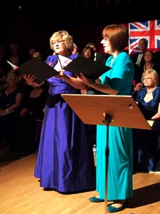 Helen Pearce and Frances Brightman sing the Flower Duet from Lakme by Delibes