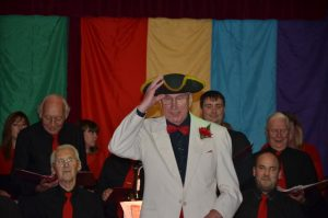 'Captain' Terry introduces The Song of the Jolly Roger