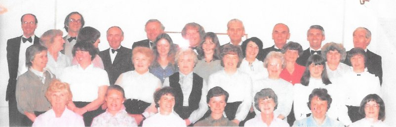 Steventon Choral Society in 1981