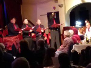 Steventon Choral's own boy band