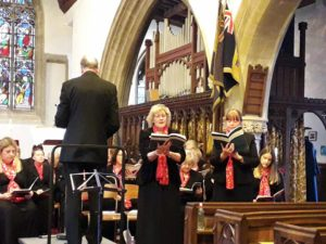 Helen Pearce and Rebecca Joisce sing I Waited for the Lord from Mendelssohn's Hymn of Praise (soprano duet and chorus)