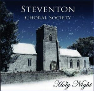 Cover of the CD, Holy Night, recorded by Steventon Choral Society