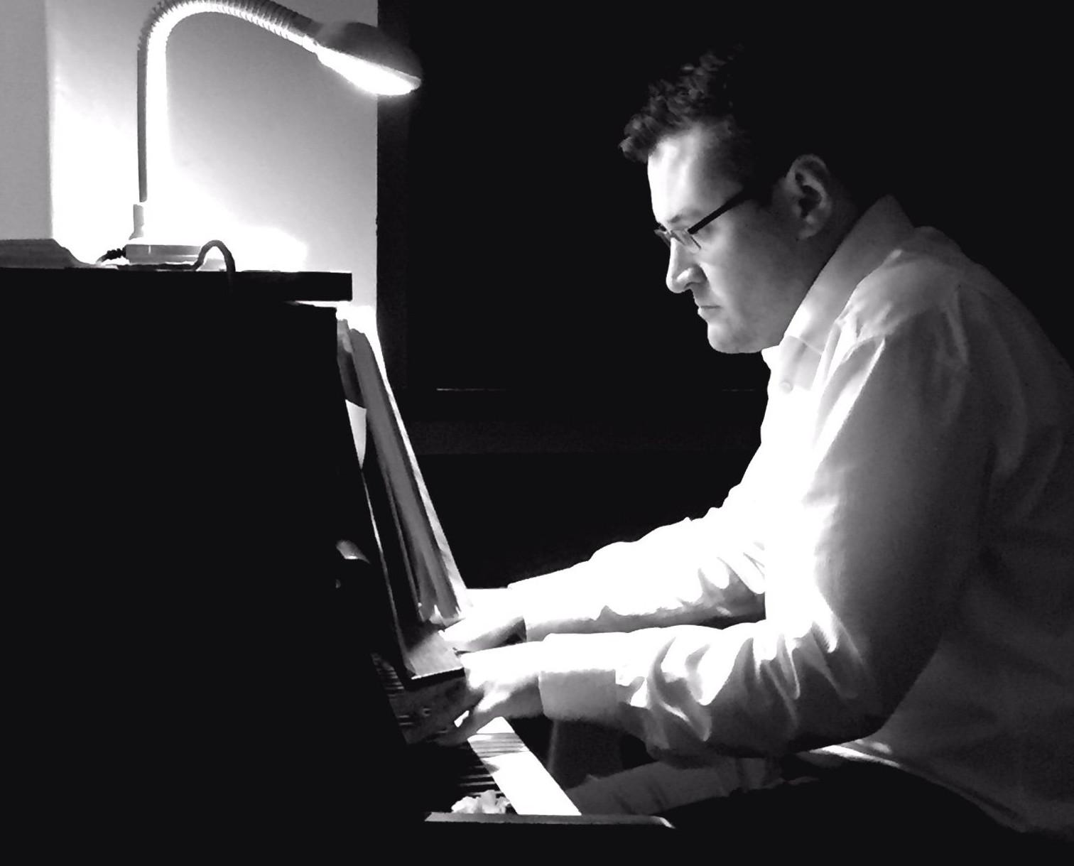 Steventon Choral Society's accompanist, Robert Thomas