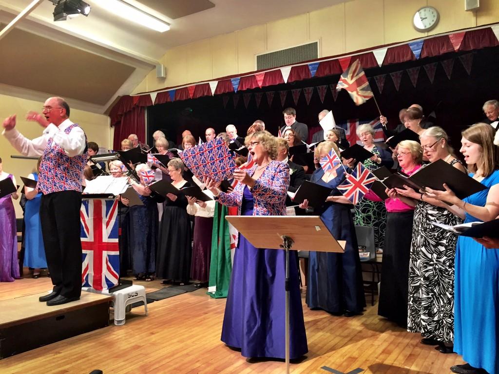 Rule Britannia - Helen Pearce and Steventon Choral Society