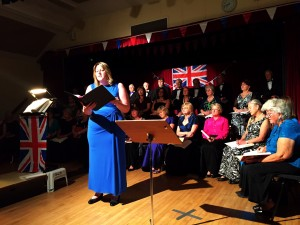 Abby Evans sings Caro Mio Ben