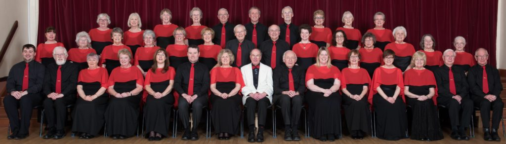 Steventon Choral Society in 2017