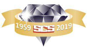 SCS Diamond Jubilee logo