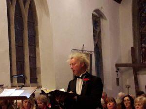 Leslie Macleod Miller - baritone soloist in Mendelssohn's Elijah