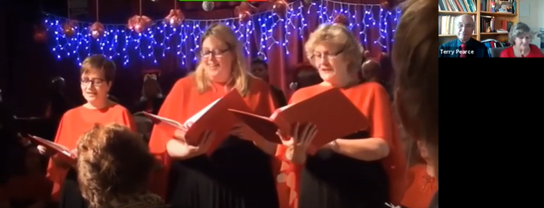 'Fascinating Rhythm', Christmas Concert 2018, by Fran Brightman, Abby Evans and Helen Pearce,