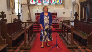 Helen Pearce sings 'Count Your Blessings (instead of sheep)