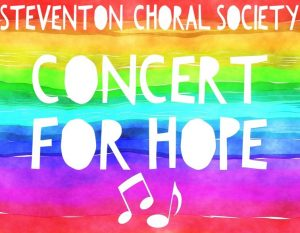 Image from poster for the Concert For Hope on 18 April 2021